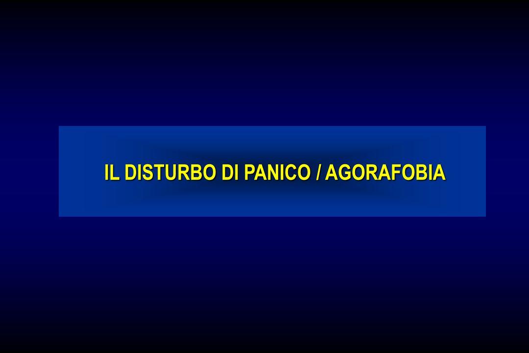 IL DISTURBO DI PANICO / AGORAFOBIA
