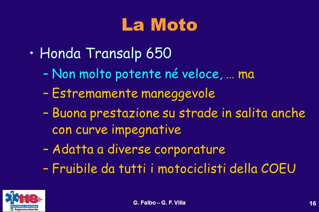 La Moto Honda Transalp 650 Non molto potente né veloce, … ma