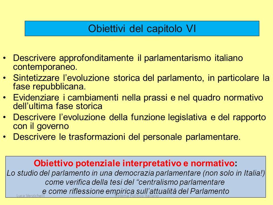 Obiettivo potenziale interpretativo e normativo: