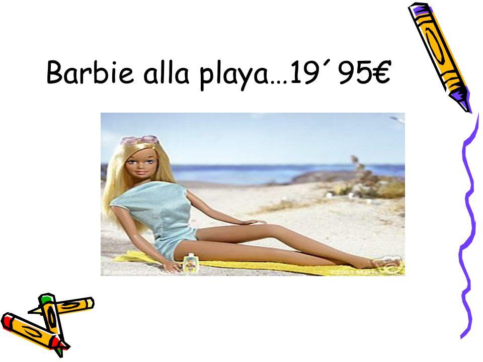 Barbie alla playa…19´95€