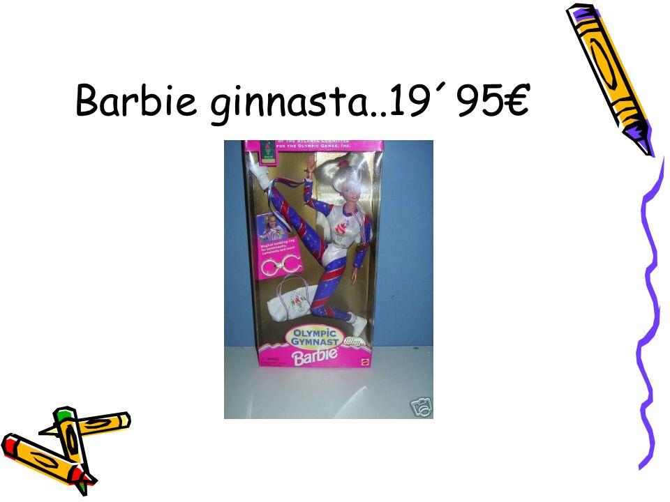 Barbie ginnasta..19´95€