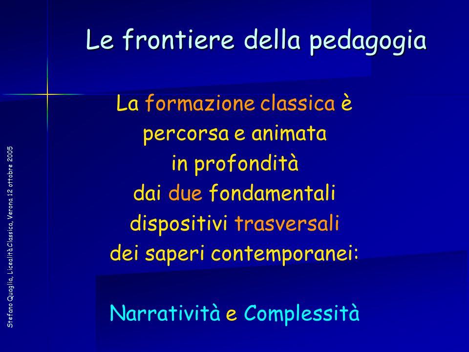 Le frontiere della pedagogia