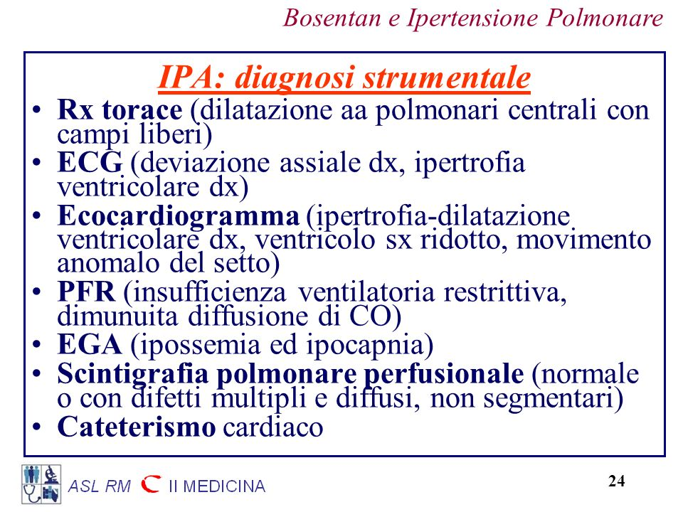 IPA: diagnosi strumentale
