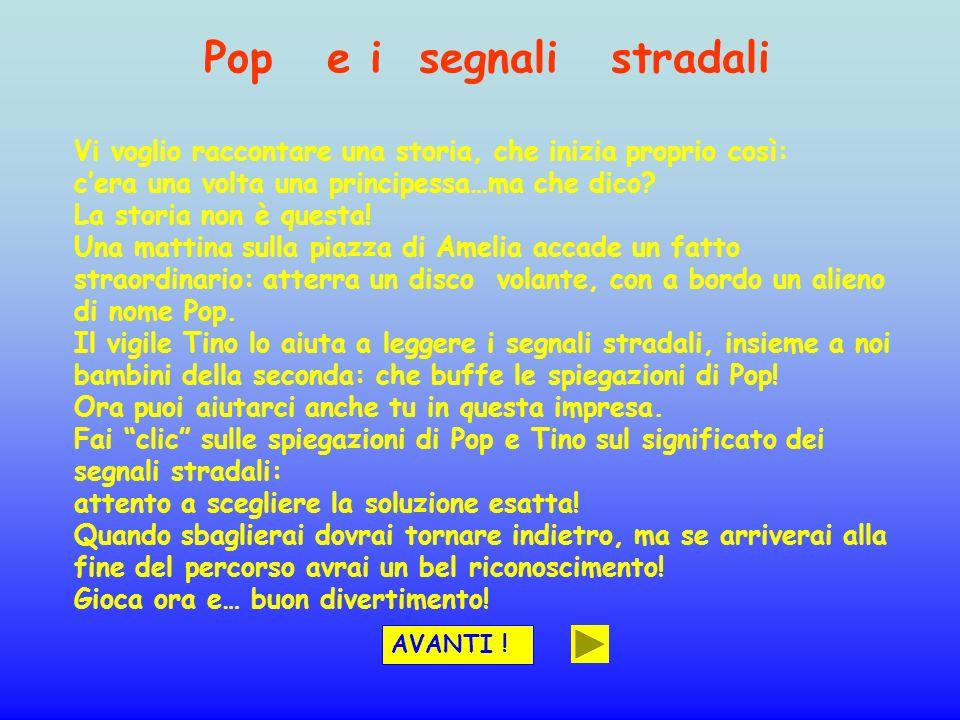 Pop e i segnali stradali