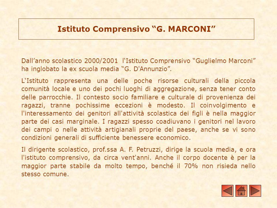 Istituto Comprensivo G. MARCONI