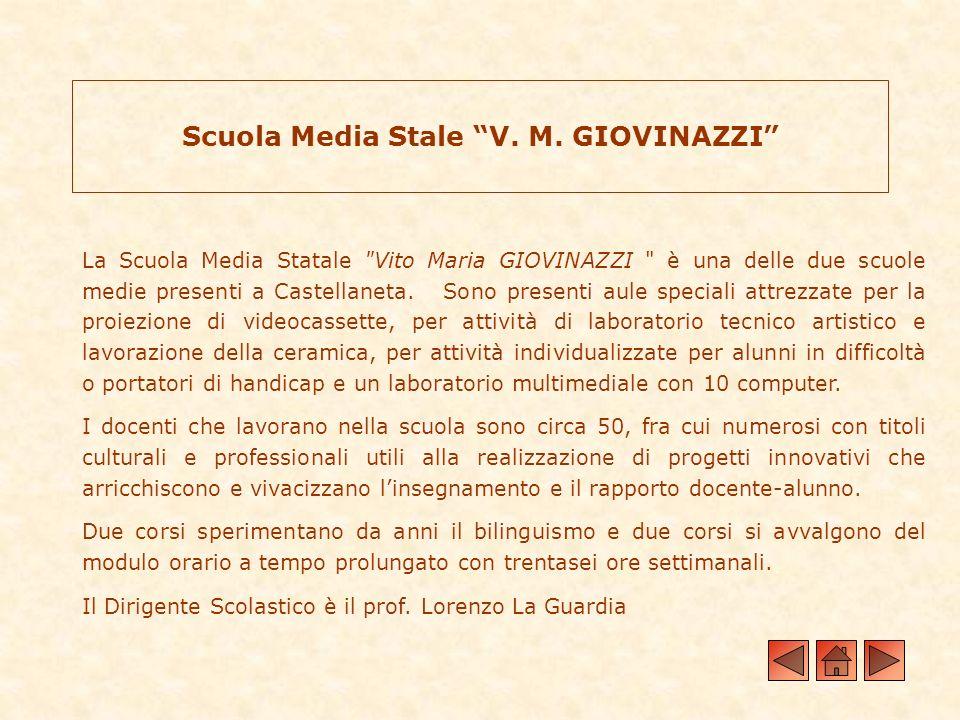 Scuola Media Stale V. M. GIOVINAZZI
