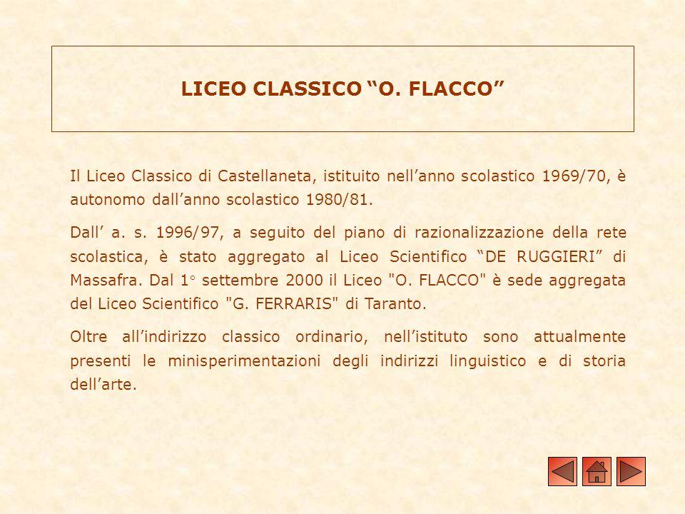 LICEO CLASSICO O. FLACCO
