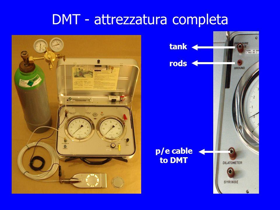 DMT - attrezzatura completa