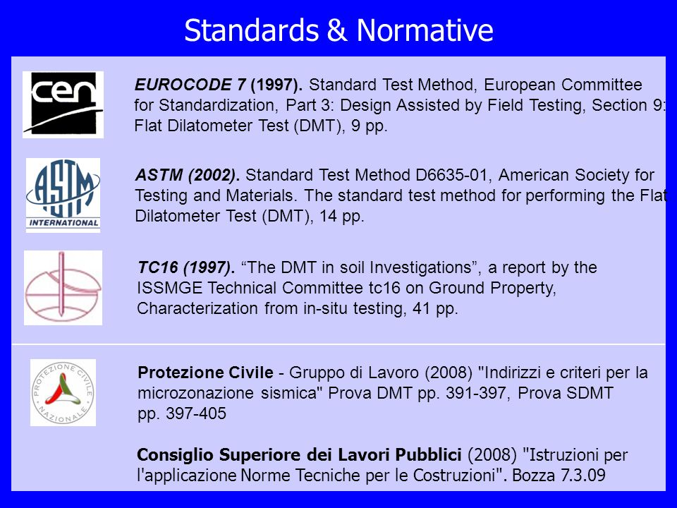 Standards & Normative
