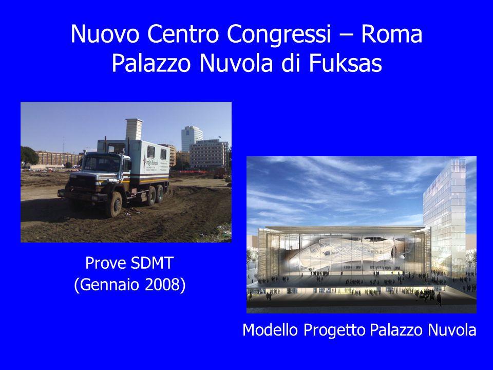 Nuovo Centro Congressi – Roma Palazzo Nuvola di Fuksas
