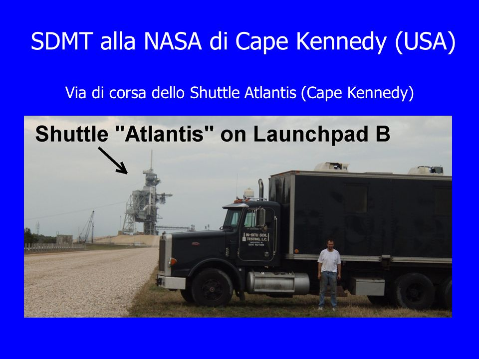 SDMT alla NASA di Cape Kennedy (USA)