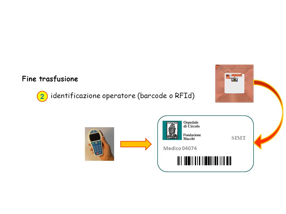 identificazione operatore (barcode o RFId) 2