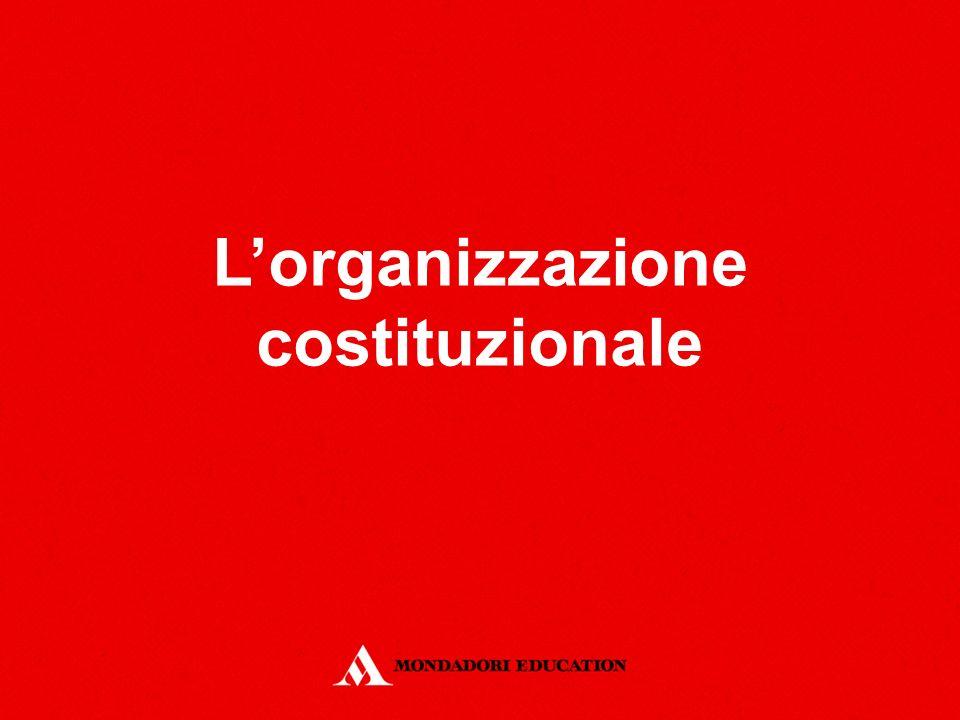 L'organizzazione costituzionale