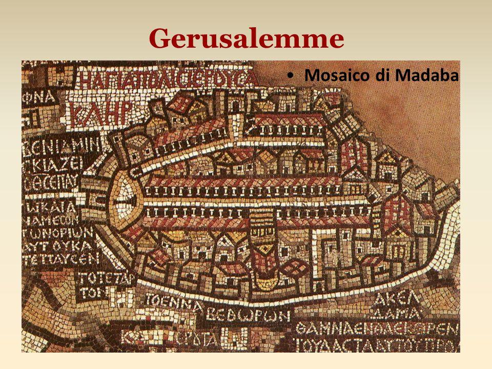 Gerusalemme Mosaico di Madaba
