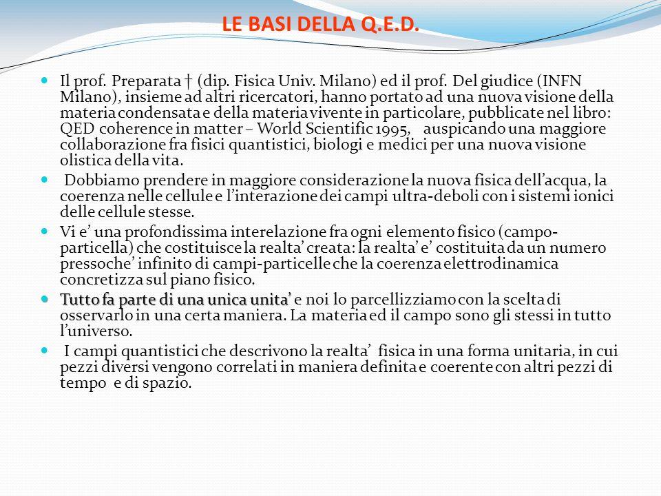 LE BASI DELLA Q.E.D.