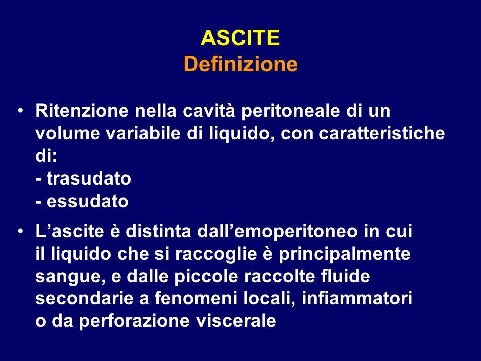 ASCITE Definizione