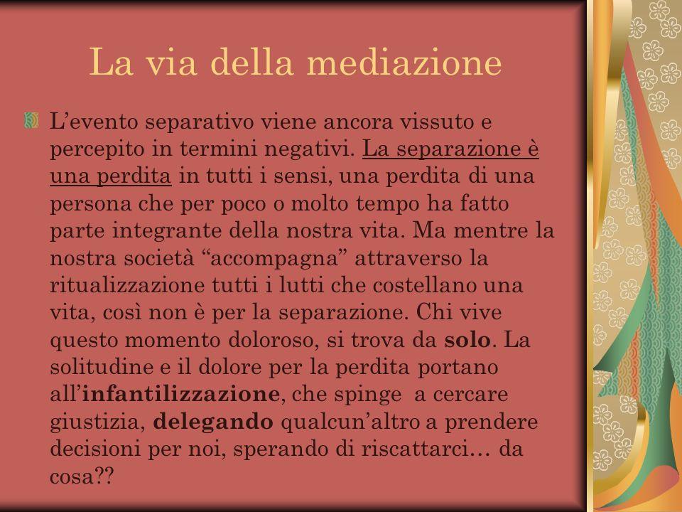 La via della mediazione