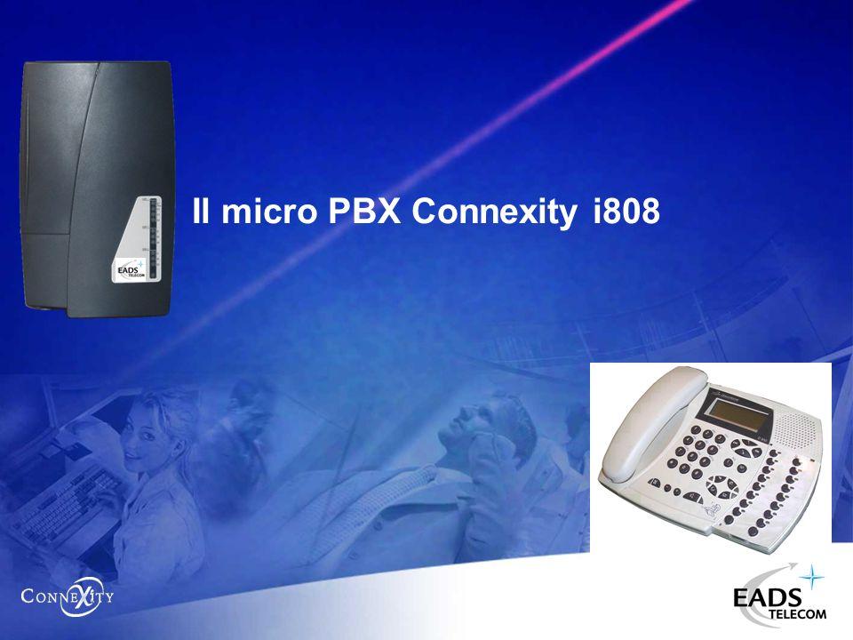 Il micro PBX Connexity i808