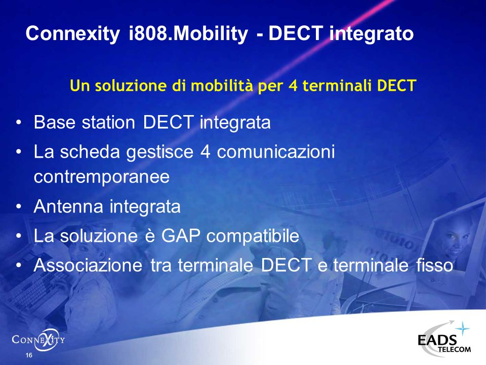 Connexity i808.Mobility - DECT integrato