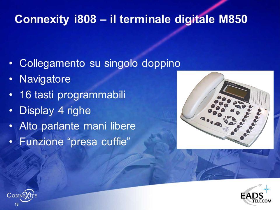 Connexity i808 – il terminale digitale M850