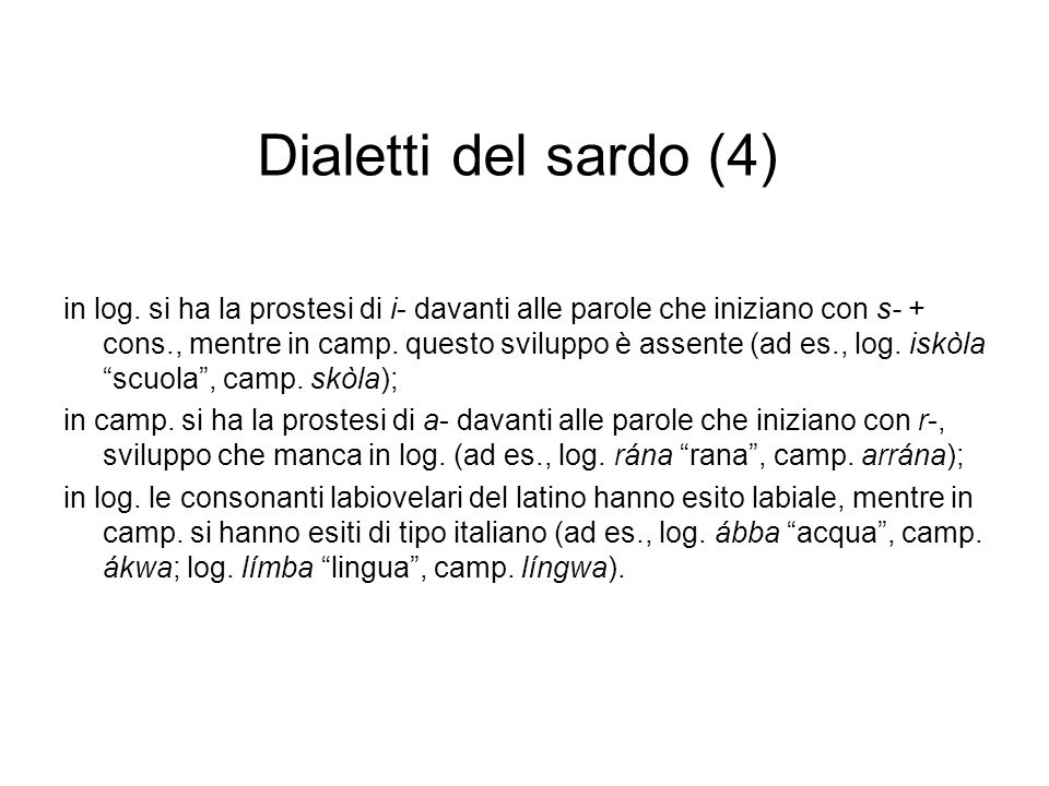 Dialetti del sardo (4)