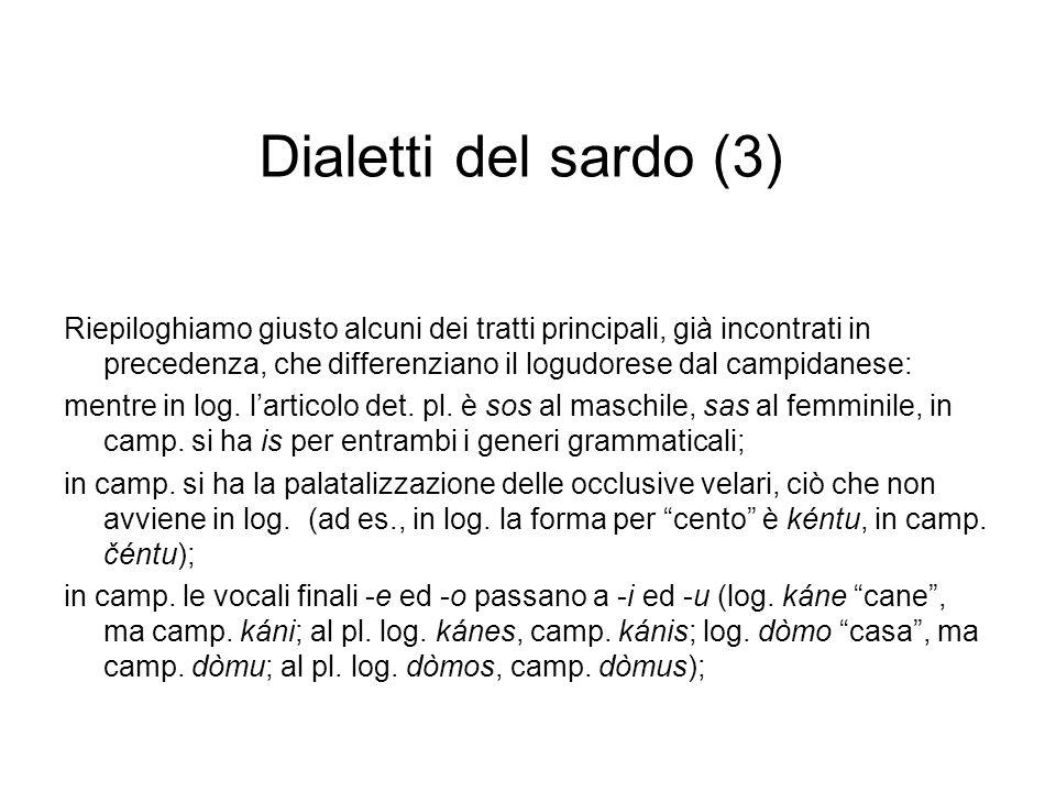 Dialetti del sardo (3)