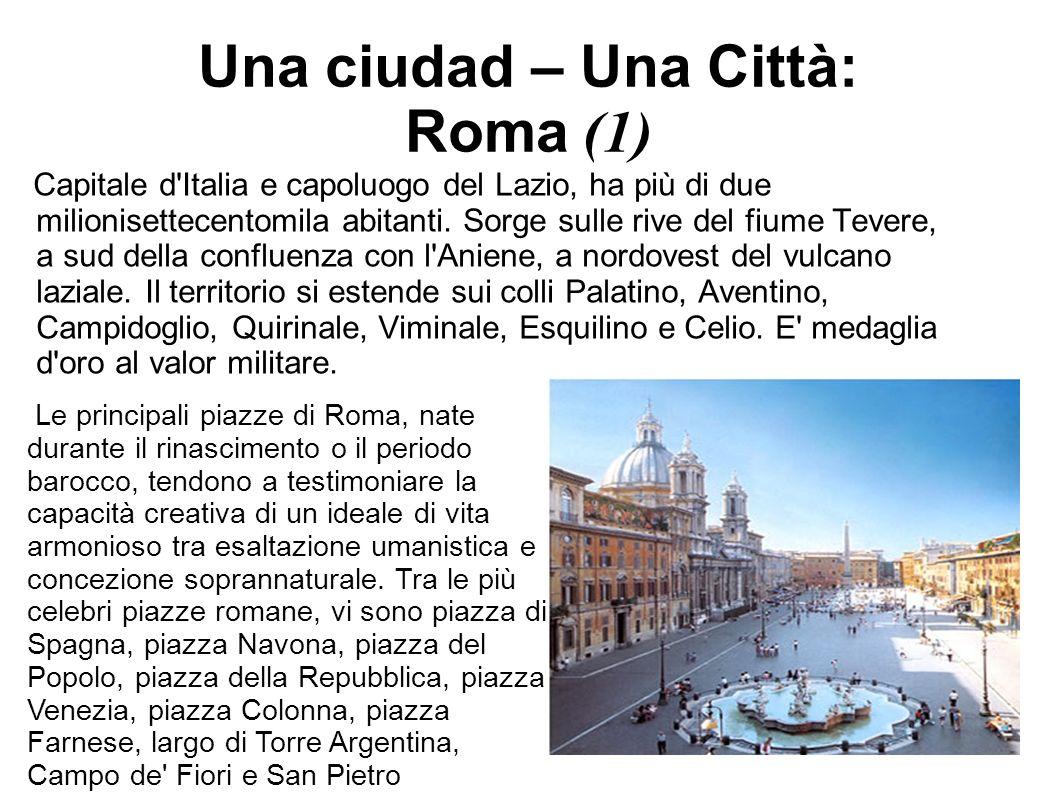Una ciudad – Una Città: Roma (1)