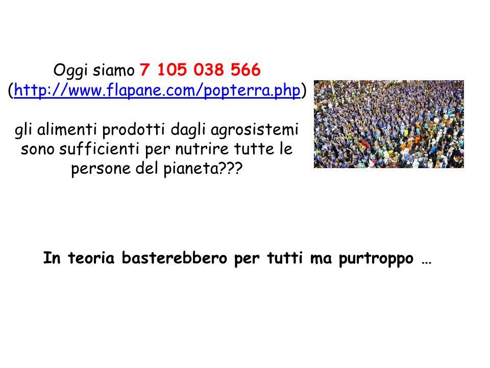 Oggi siamo 7 105 038 566 (http://www.flapane.com/popterra.php)