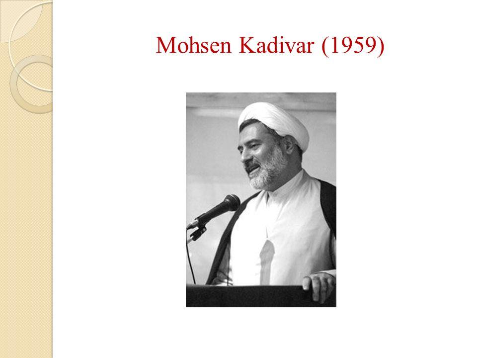 Mohsen Kadivar (1959)