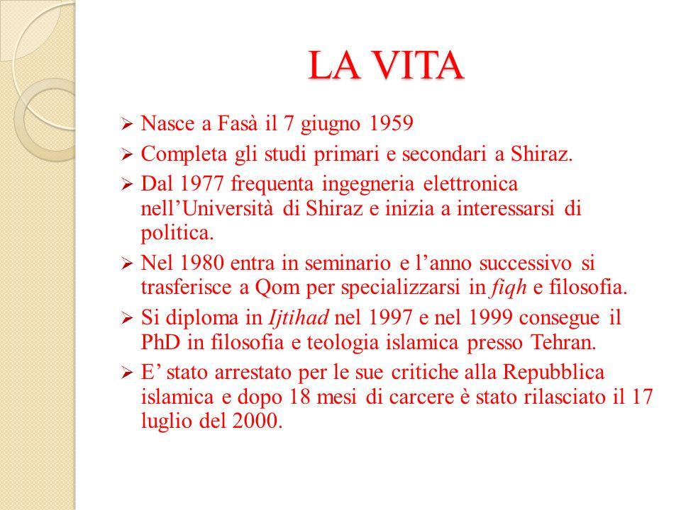 LA VITA Nasce a Fasà il 7 giugno 1959