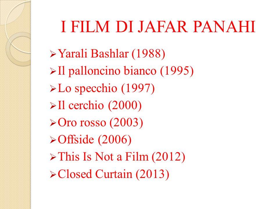 I FILM DI JAFAR PANAHI Yarali Bashlar (1988)