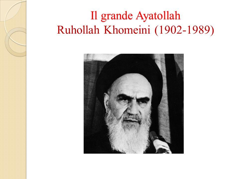 Il grande Ayatollah Ruhollah Khomeini (1902-1989)