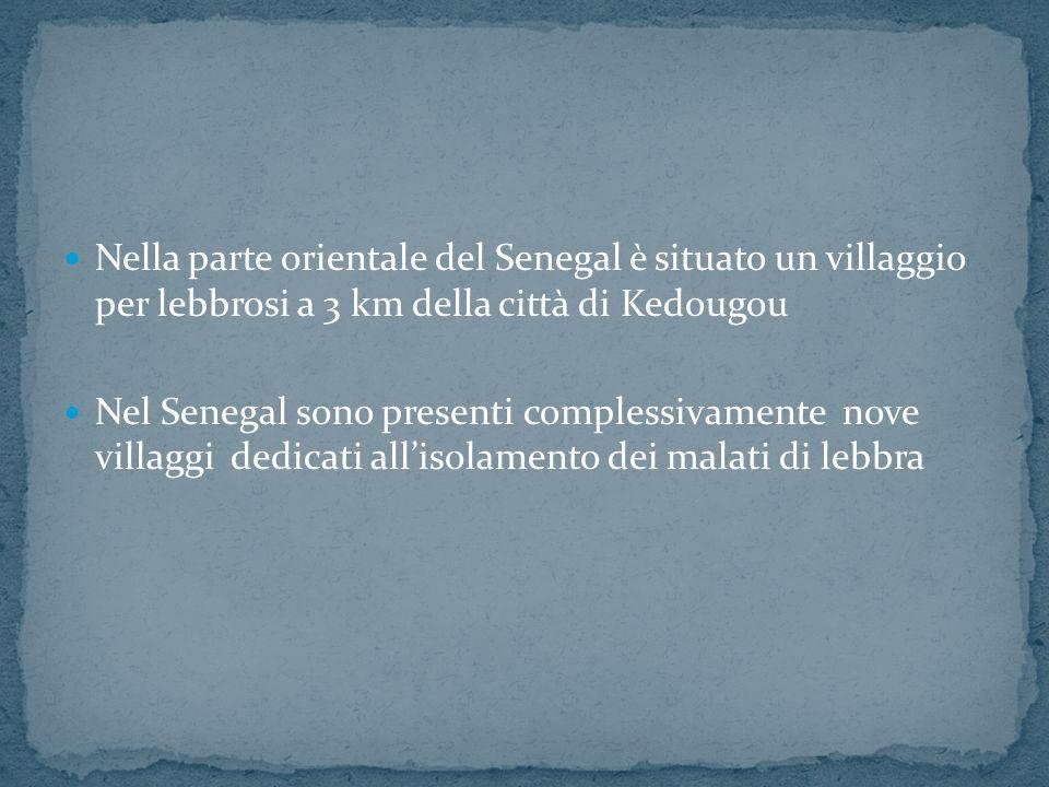 Nella parte orientale del Senegal è situato un villaggio per lebbrosi a 3 km della città di Kedougou