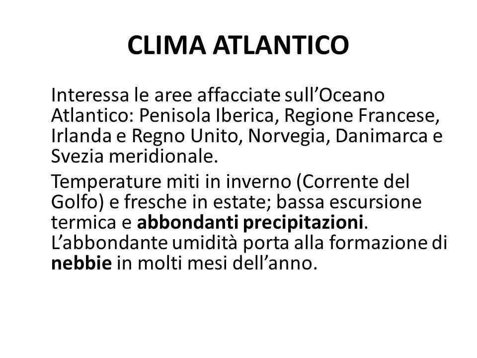 CLIMA ATLANTICO