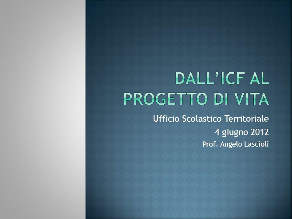 DALL'ICF AL PROGETTO DI VITA