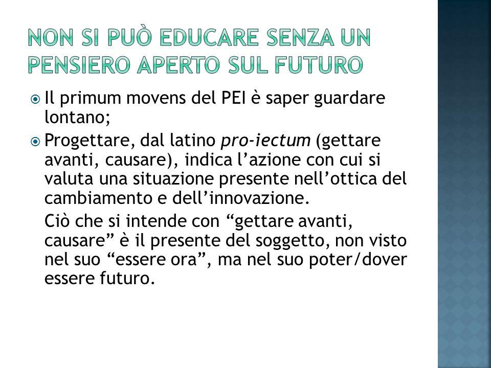 Non si può educare senza un pensiero aperto sul futuro