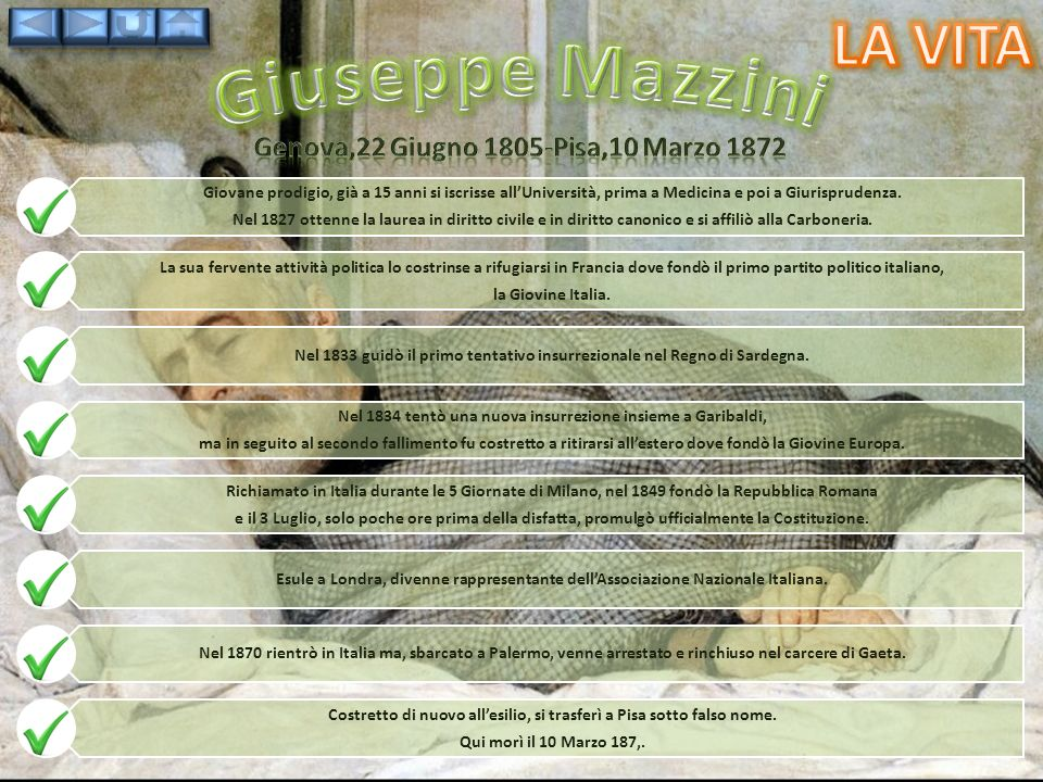 Genova,22 Giugno 1805-Pisa,10 Marzo 1872