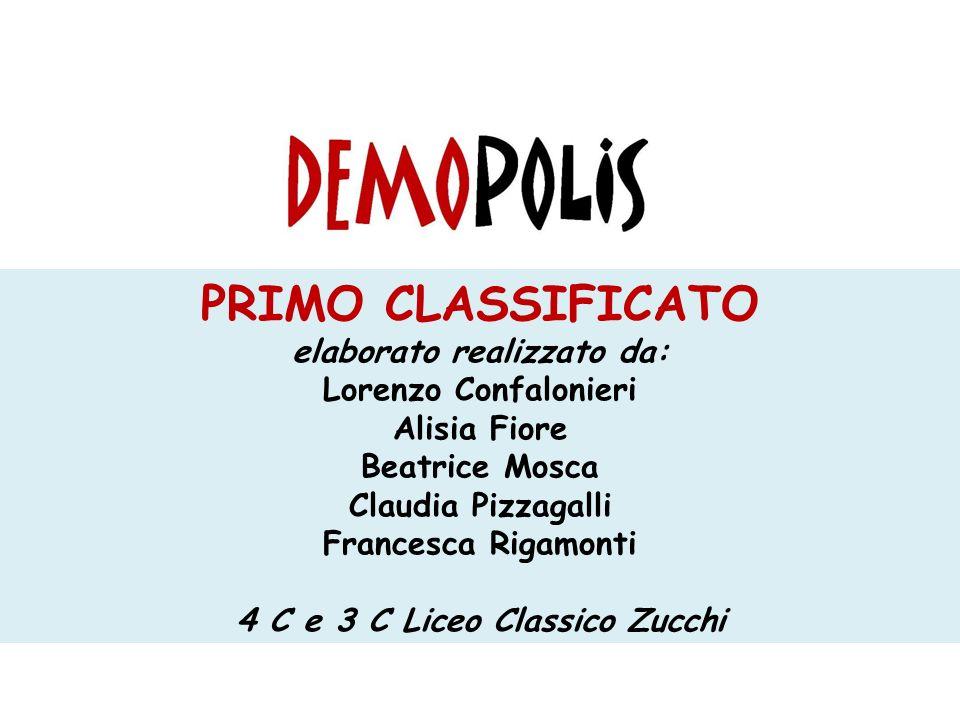 elaborato realizzato da: 4 C e 3 C Liceo Classico Zucchi