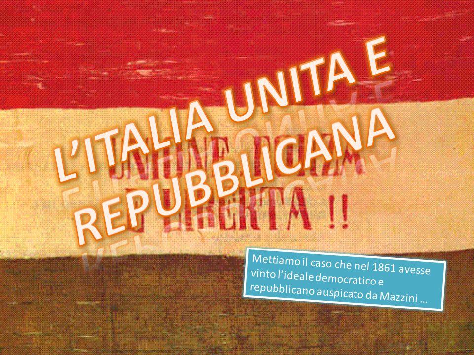 L'Italia unita e repubblicana