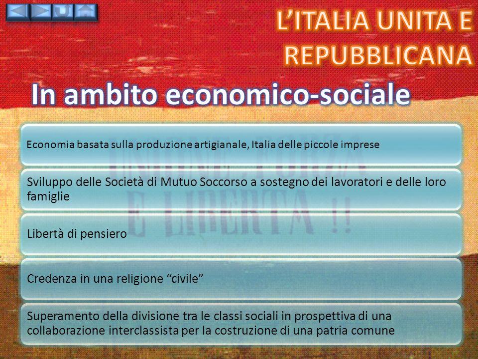 In ambito economico-sociale