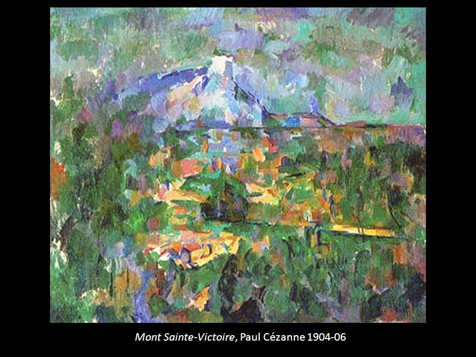 Mont Sainte-Victoire, Paul Cézanne 1904-06