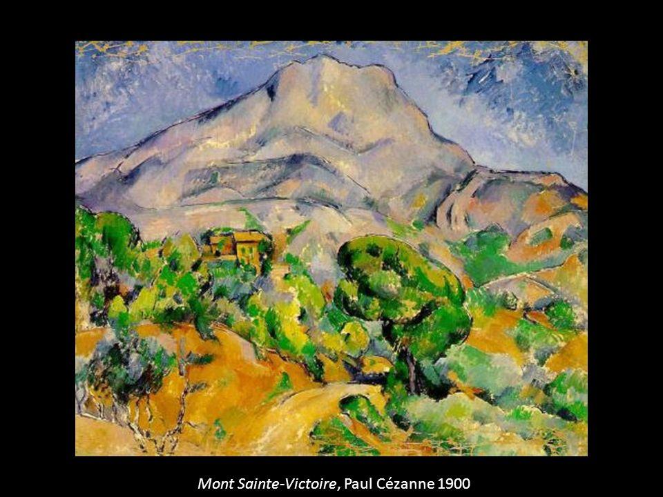 Mont Sainte-Victoire, Paul Cézanne 1900