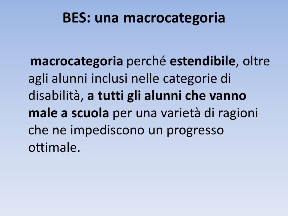 BES: una macrocategoria