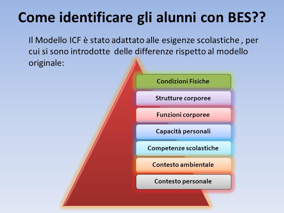 Come identificare gli alunni con BES