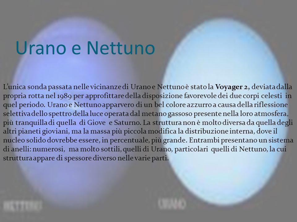 Urano e Nettuno
