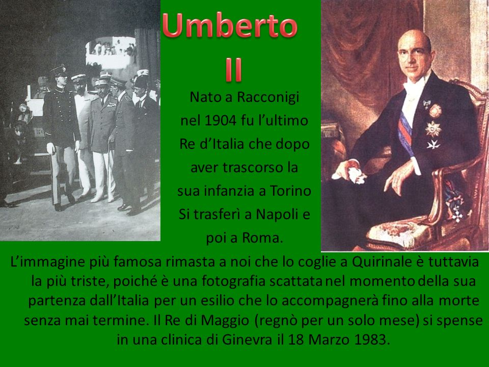 Umberto II.