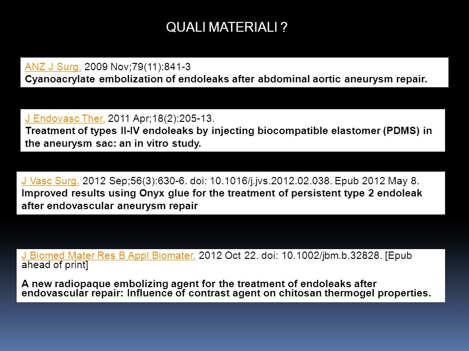 QUALI MATERIALI ANZ J Surg. 2009 Nov;79(11):841-3
