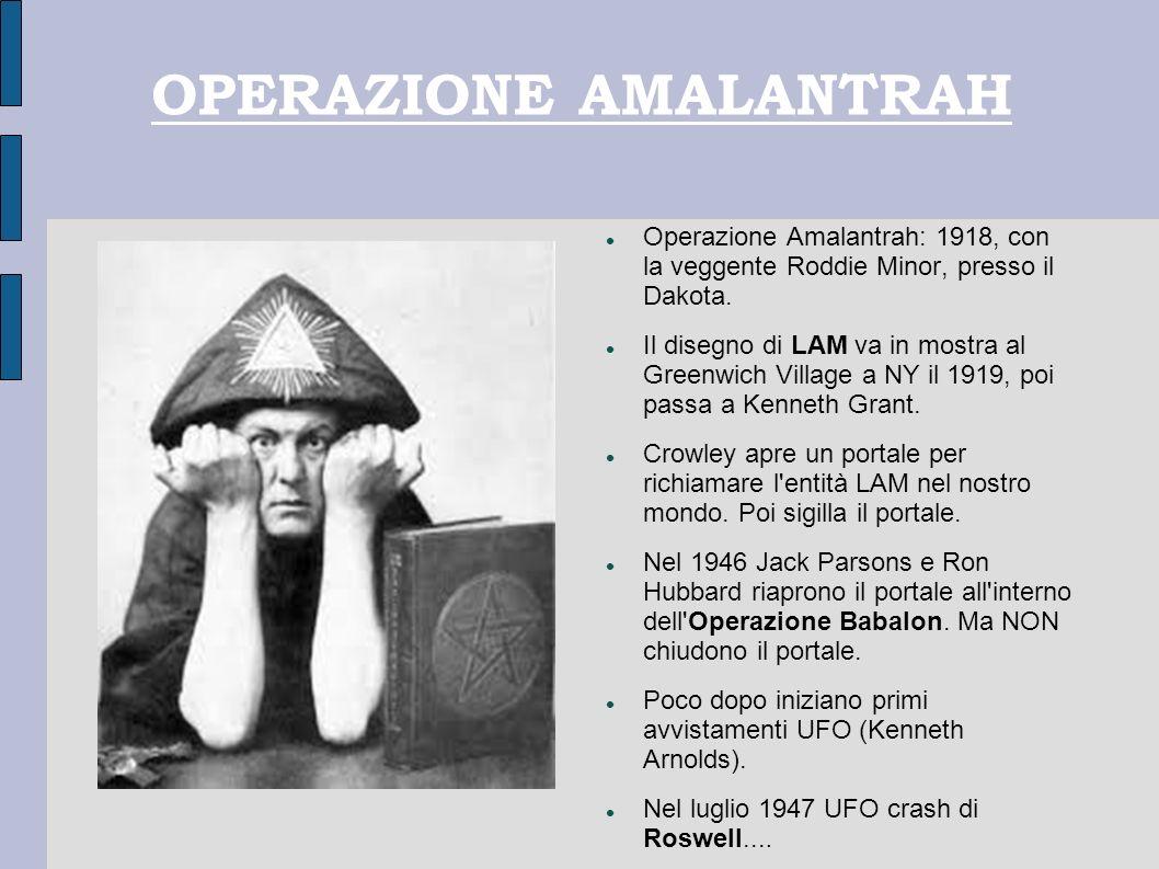 OPERAZIONE AMALANTRAH