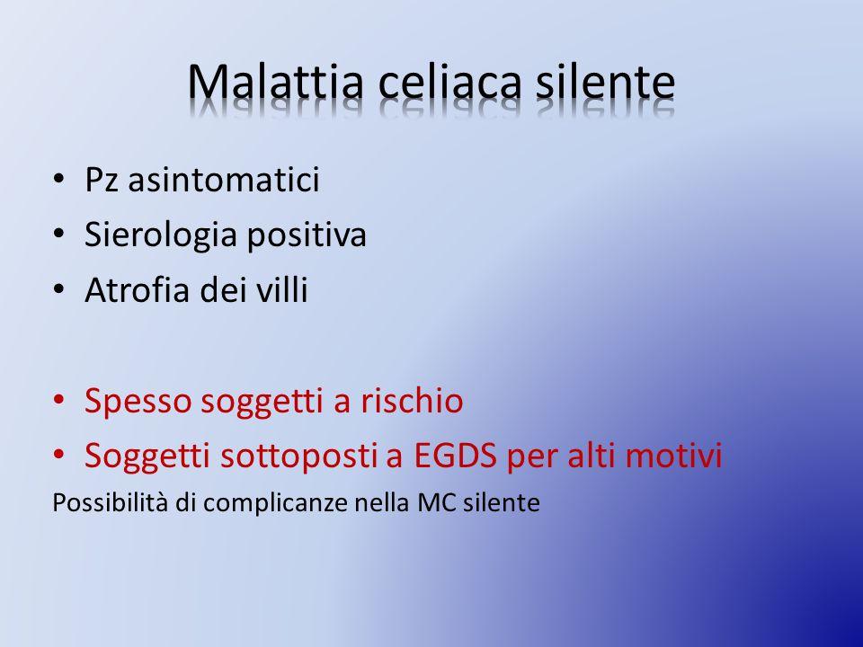 Malattia celiaca silente