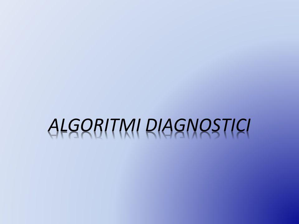 ALGORITMI DIAGNOSTICI